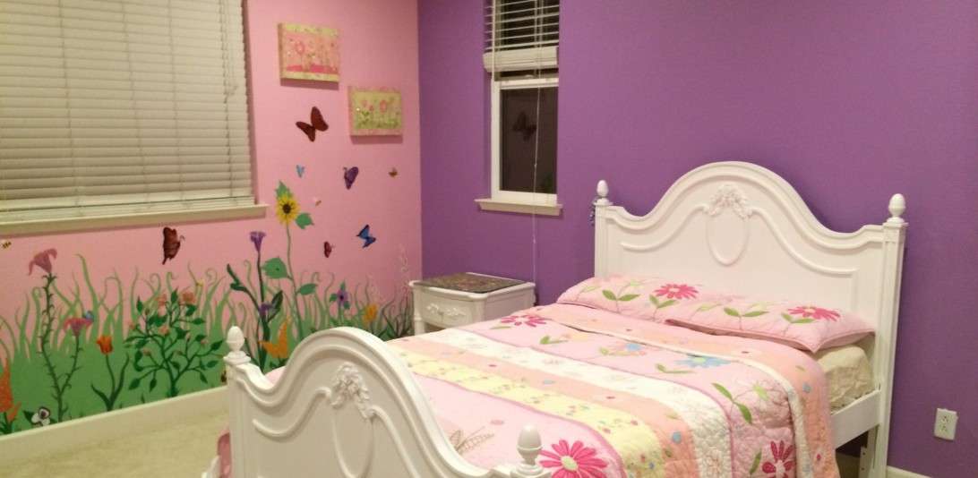 Girl's Flower Bedroom