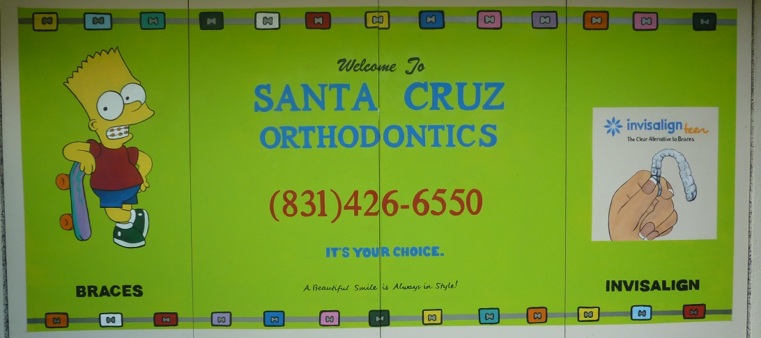 Santa Cruz Orthodontics Signage