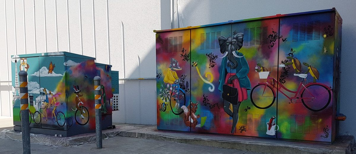 Muraled Boxes