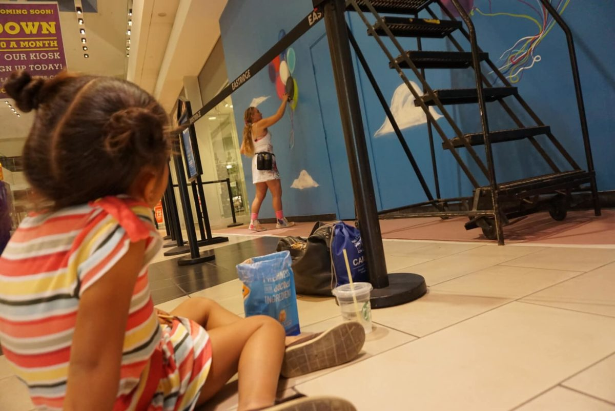 Going Up, Eastridge – Live Art